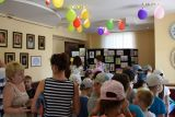 """Открытие выставки детских рисунков """"И такое бывает!"""" фото 5"""