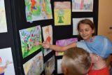 """Открытие выставки детских рисунков """"И такое бывает!"""" фото 7"""